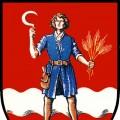 Altes Wappen: Gemeinde Kirchbach in Steiermark
