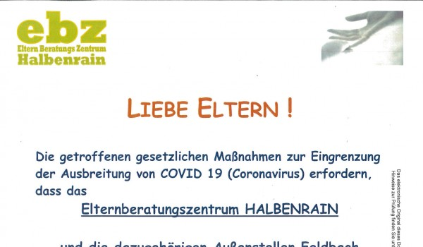Foto: Foto: ebz - Elternberatungszentrum Halbenrain